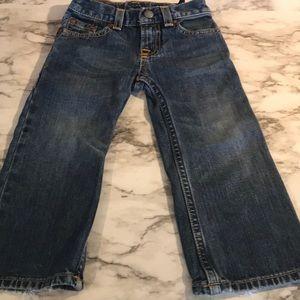 Ralph Lauren jeans with distressed look